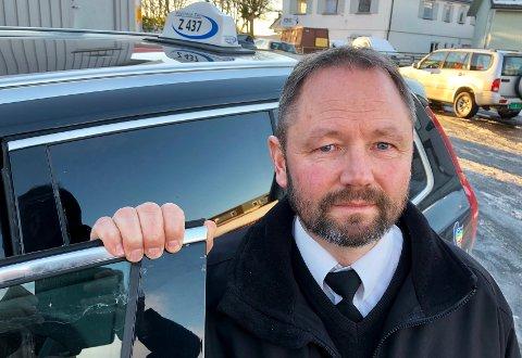 ØYSTEIN K. JARLSBO: Mener regjeringens forslag til endringer i taxi-næringen er et ja til sosial dumping.
