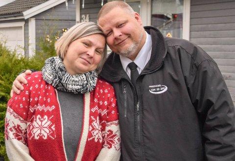 """TRENGER HJELP: Fra 1. august står ekteparet Jill-Renate og Frodo Støbakk uten bolig. Initiativtakerne bak Facebook-gruppa """"Horten hjelper Horten"""" trenger selv hjelp."""