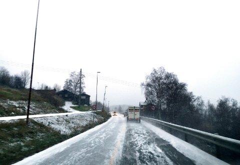 Snø kan gå over til regn i løpet av onsdag og torsdag.