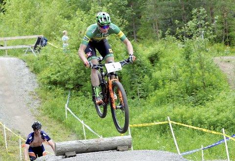 FAVORITT: Petter Fagerhaug er stor favoritt til å vinne norgescupen på hjemmebane til helga. Helgens ritt på Lillehammer er også uttak til verdenscupen.