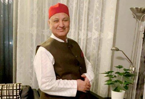 Arshad Javed Sheikh som bodde og arbeidet i Lillehammer.