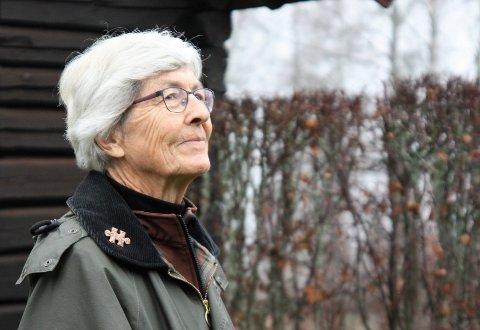 Pensjonist: Merete nyter livet som pensjonist, men det stopper henne ikke i å engasjere seg i lokalsamfunnet.