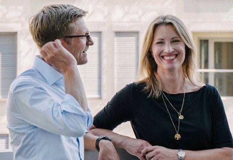 DUO: Svein Tore Bergestuen og Eva Sannum er partnere i kommunikasjonsbyrået Sannum & Bergestuen.