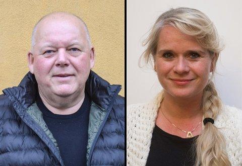 EGET BUDSJETTFORSLAG: Per Kristian Dahl og Annette Farmann er uavhengige representanter i kommunestyret og la fram sitt eget budsjettforslag i formannskapet. 14. desember