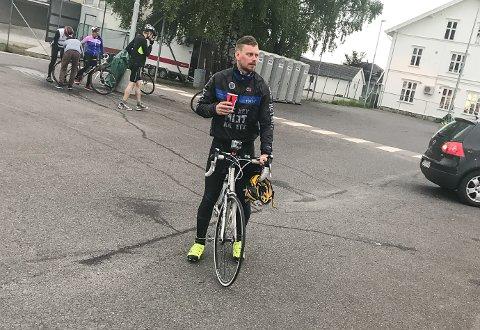 Geir-Arne Karrestad syklet Trondheim-Oslo, og det ble et slit.