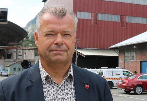 Kommunalsjef: Øyvind Stueland skiftar no jobb og vert kommunalsjef i Suldal kommune.