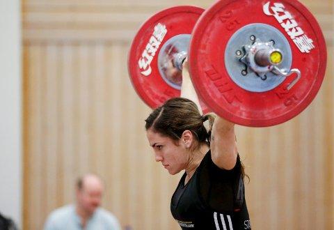FAVORITT: Zekiye C. Nyland fra Tysvær Vektløfterklubb er regjerende mester og  favoritt i 58 kg-klassen.