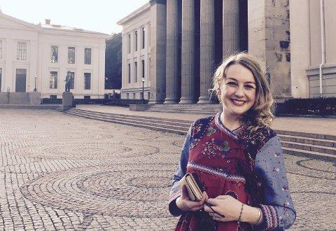 LIKER HOVEDSTADEN: Et bryllup i Oslo blir et av høydepunktene til Silje Christine Hellesen denne sommeren. FOTO: PRIVAT