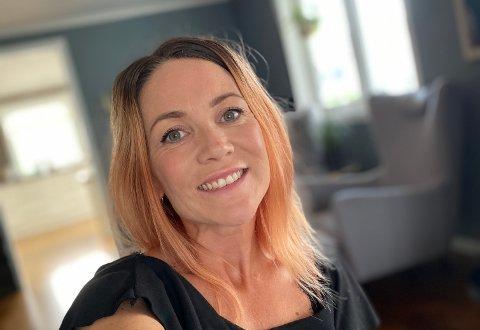 BÅDE GLEDER OG GRUER SEG: Camilla Nes Sandhåland fra Åkrehamn.