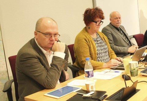 På plass: Erlend Eriksen på plass i Vefsn kommunestyre. Foto: Jon Steinar Linga
