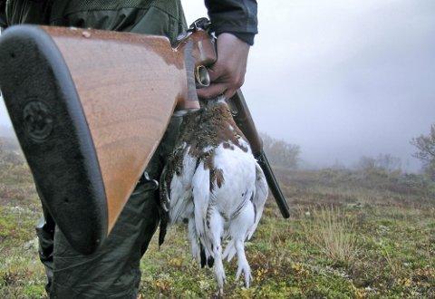 STRENGERE REGLER: Mye tyder på at det blir strengere regler for bruk av blyhagl på jakt fra 2023.