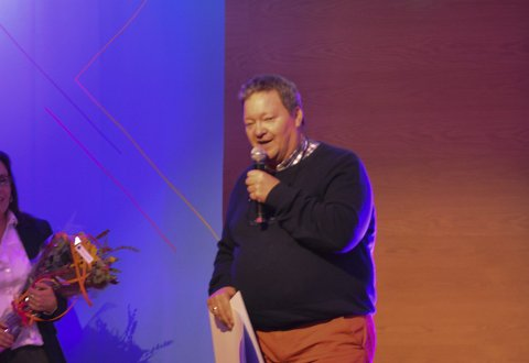 PRISVINNER: Konserndirektør Svein Ruud i Norway King Crab.