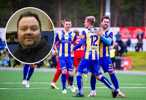 FORT INN, FORT UT: Morten Gamst Pedersen & Co. vil spille kampen mot FFK som planlagt. Med hovedtrener Vidar Johnsen sier klubben blant annet ikke ønsker å overnatte her i byen.