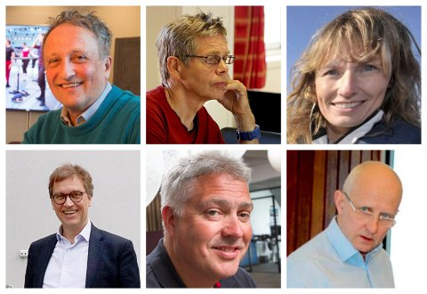 INVESTORER: Roar Dons, Per Aronsen, Aino Olaisen, Kristian Adolfsen, Tord Kolstad, Brynjar Forbergskog.