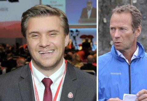 NY JOBB: Christian Tynning Bjørnø (t.v.) har fått toppjobb hos Ivar Tollefsen.