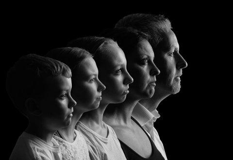 Lars Martin Teigen fekk gull for bildet «Family Portrait».