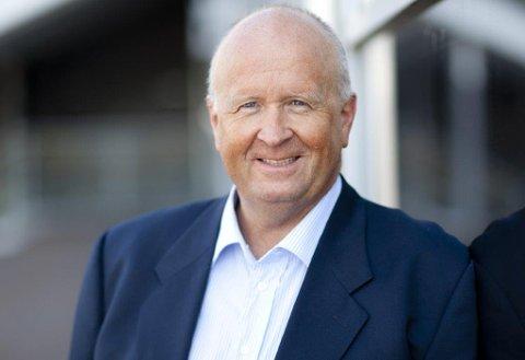 Konsernsjef Olav Linga i Haugaland Kraft AS har god tru på fordelane samanslåinga gir for partane.