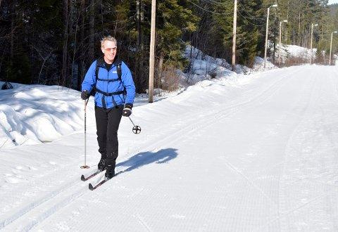 Hans Jørgen Haugen har gått Knuteløpet mange ganger, men akkurat denne gangen (søndag) var det ekstra slitsomt grunnet føret.