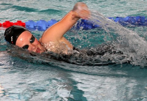 Medaljegrossist: Majken Smith tok hele sju medaljer i NM. Arkivfoto