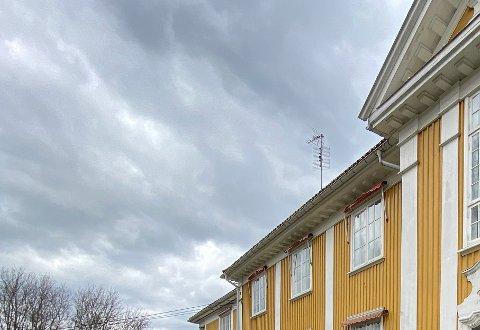Sist uke: Bildet sist uke viste toppen av fronten til Frogner sykehjem.
