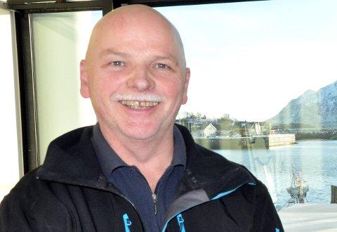 Lys-sjef: Baard Nordby ønsker seg lys på Svolværgeita hvert år og ber kommunen om permanent tillatelse.