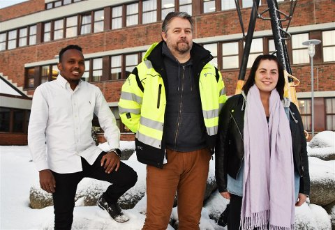 Elin Sie (28) og Mohamed Hassan (29)  er nyansette i Vestvågøy kommune