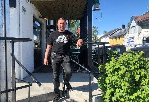 Festivalsjef Leif-Thore Olsen er klar for tidenes andre Lyden av Lofoten i Kabelvåg.