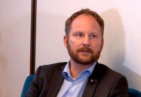 Ordfører Remi Solberg (Ap) i Vestvågøy kommune.