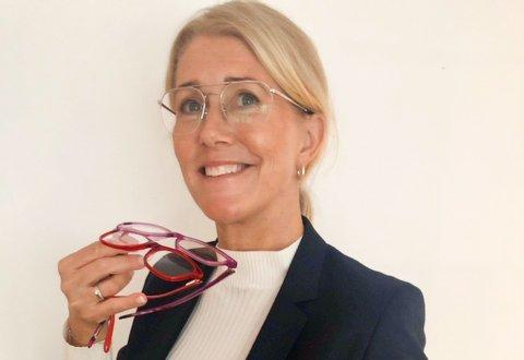 Maria Strauman Eidjord hos Strauman optikk.