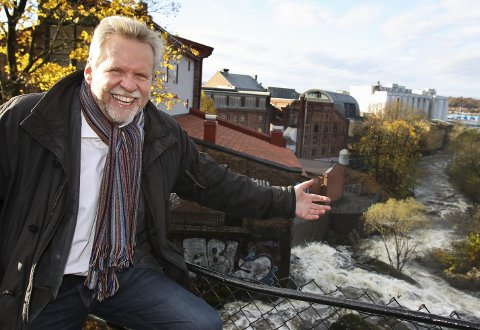 GLEDER SEG: Nytilsatt prosjektleder for byjubileet i Moss, Trygve G. Nordby, ser fram mot å jobbe med feiringen av Moss i 2020.