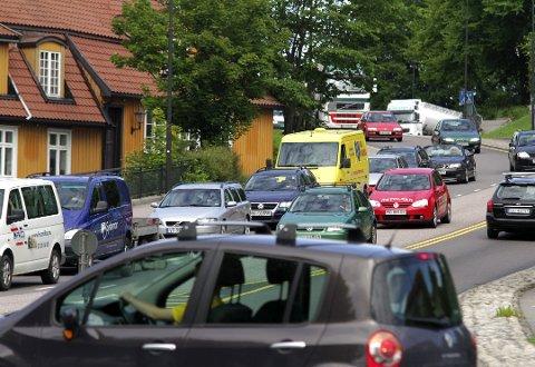 Ny rv 19 gjennom Moss sentrum er et av amnge veiprosjekt hvor kostnadene har økt betraktelig.
