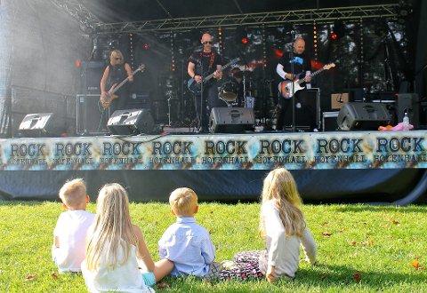 ROCK HØYENHALL: Lørdag 25. august er det klart for årets rockefestival i Høyenhallparken. Arkivfoto