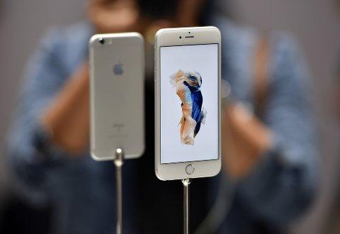 Den nyeste modellen, iPhone 6s, er tynn. 7-eren kan komme til å bli enda tynnere.