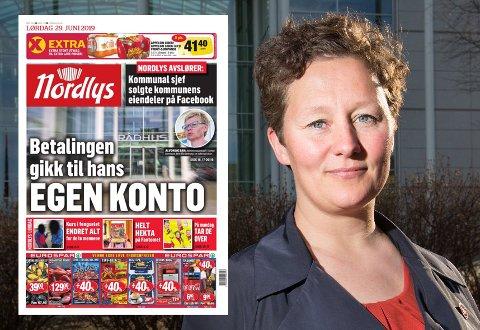 - VELDIG ALVORLIG: Tromsø-ordfører Kristin Røymo (Ap) avbryter egen ferie, og har bedt administrasjonen om en redegjørelse etter Nordlys-avsløringen på lørdag.