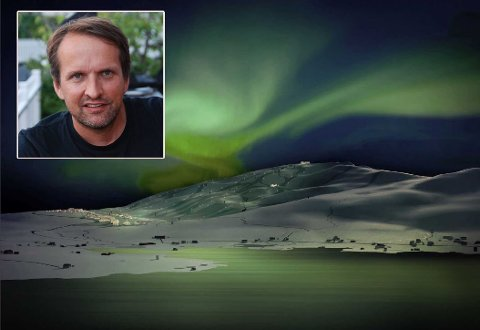 NYTT HÅP: Erik Joachimsen i Arctic Center har nytt håp om realisering av alpinanlegget etter støtte fra Statsforvalteren.