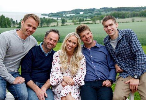 Audun Øygaard, Axel Tobias Sanderud, Katarina Flatland, Sonde Stubrud og Martin Vågsæter.