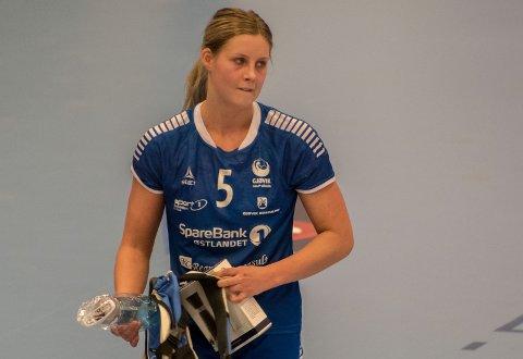 Synne Fossheim tatt ut som reserve på juniorlandslagets samling i Bergen.