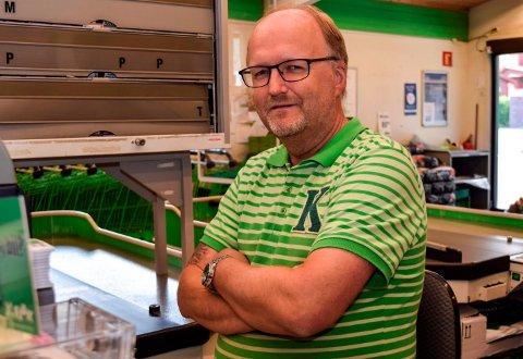 KIWI-KJØPMANN: Kiwi-kjøpmann Svein Håvard Linnerud på Kapp ville kunnet fremme erstatningssak mot kommunen dersom han enda en gang hadde måttet endre planene for ny dagligvarebutikk.