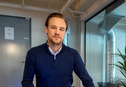 CEO: Eirik Juritzen, daglig leder i Prolux Lighting jobber med energibesparende løsninger på Gjøvik.