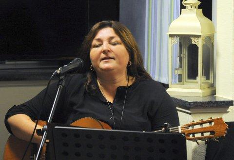 Musikk: Hanne Ingersdatter sto for det musikalske innslaget.