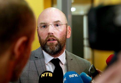 FORSVARER: Advokat Brynjar Meling forsvarer den 39 år gamle mannen som er tiltalt for å ha drept Kristin Juel Johannessen. Han vil forsøke å så tvil om aktoratets sterkeste kort, det nye DNA-beviset mot hans klient. Foto: