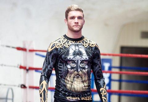 NEKTER Å GI OPP: Quinten de Vreught tapte sin første  proffkamp i MMA,  men mener gode motstandere er eneste måten å nå drømmen om UFC på.