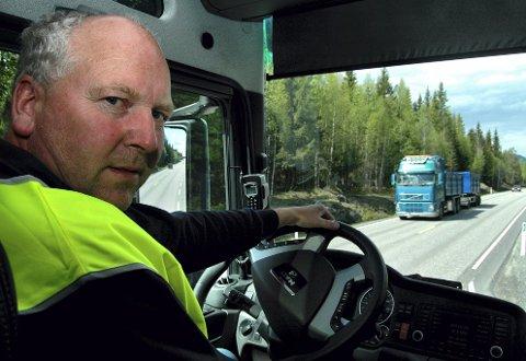 KRITISK TIL SALTKUTT: Daglig leder i Tamnes Transport AS og forbundsleder i Norges Lastebileier-Forbund,  Tore Velten. Foto: Knut Fjeld
