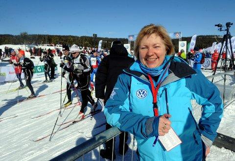 SØKER: Sølvi J. Amundsen Aas fra Elverum har søkt den ledige jobben som daglig leder i Ankerskogen svømmehall i Hamar.