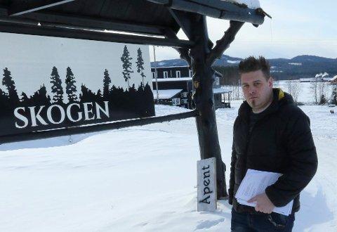 TROR PÅ PROSJEKTET: Dagløig leder ved Skogen Restaurant, Henning Myrer, har stor tro på appen som nå snart skal lanseres.