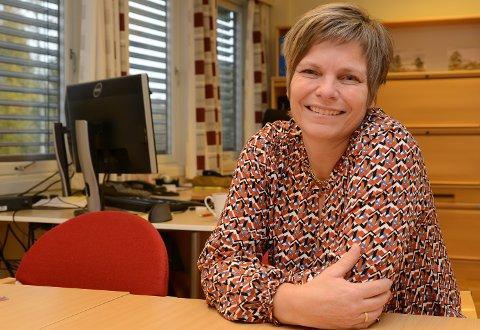 NOEN LYSPUNKT: Økonomisjef i Våler kommune, Reidun Vie, kunne melde om pluss i stedet for et budsjettert underskudd.