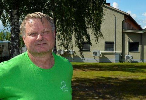 LEIT: Ordfører Even Moen (Sp) i Stor-Elvdal sier det er leit at Norges natur- og økologigymnas på Koppang ble lagt ned ved skoleårets slutt i juni.