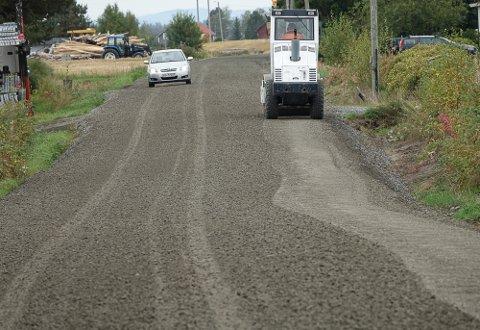 I HØST: Her blir det asfaltering på Karlstad-vegen om et par uker.