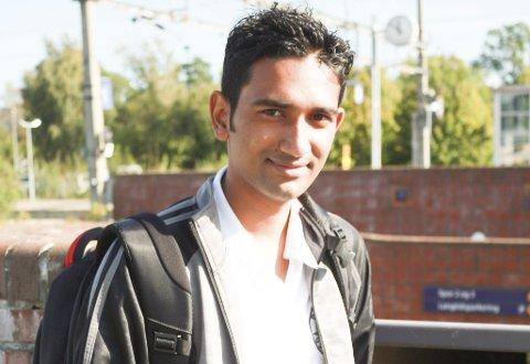 Ashiq Pathan fra Bangladesh studerer ved Høgskolen i Sørøst-Norge.
