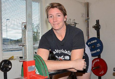 IKKE HELT DAGEN: – Jeg hadde ikke helt dagen og endte uten både personlig rekord og medalje, som jeg satset på, sier Camilla Thornquist etter fjerdeplassen i regionmesterskapet. FOTO: JO ERIK ASKERØI